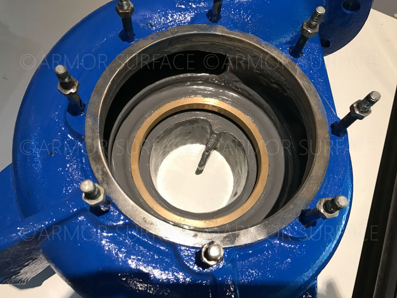 Ceramic Epoxy Coating Pump